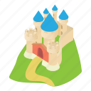 ancient, cartoon, construction, estate, home, palace, residential icon