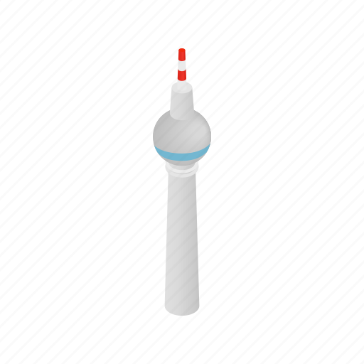 berlin, building, city, germany, isometric, tower, urban icon