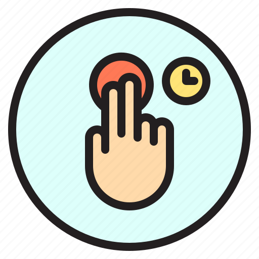 creen, mobile, time, touch icon
