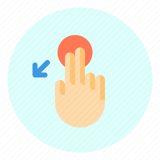 creen, down, mobile, slant, touch icon