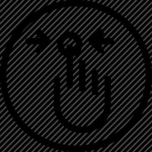 double, horizontaltab, mobile, screen, touch icon