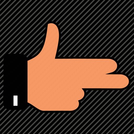 Scissors, peacehand, o, hand icon