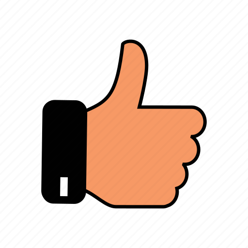 thumbs, up icon
