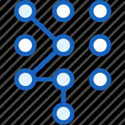 gestures, unlock icon