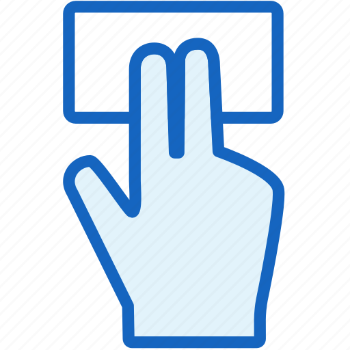 fingers, gestures, hold icon
