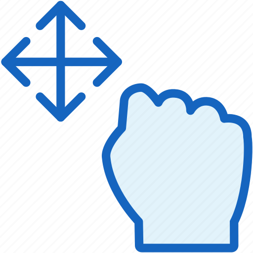 gestures, hand, hold icon