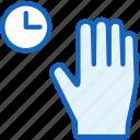 gestures, hand, wait icon