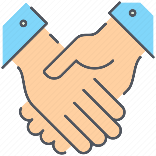 agreement, approval, business, finance, handshake icon