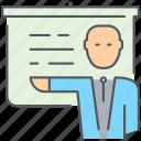business, businessman, finance, lecture, man, presentation, presenter