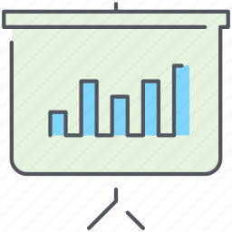 analytics, business, finance, pipe chart, presentation, report, statistics icon