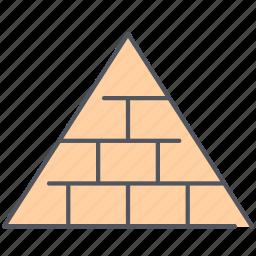 hierarchy, marketing, network marketing, pyramid, pyramid scheme, scheme icon