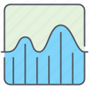 analytics, business, curves, finance, report, statistic, stats icon