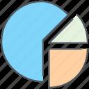 analytics, business, finance, pie, pie chart, report, statistics icon