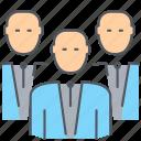 businessmen, employees, group, men, people, team, teamwork