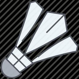 badminton, ball, game, shuttlecock, sport, tennis, tournament icon