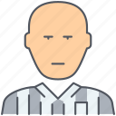 referee, football, foul, soccer, sport, supervisor, whistle icon