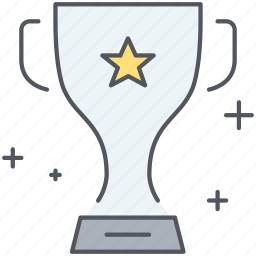 achievement, award, competition, cup, prize, trophy, winning icon
