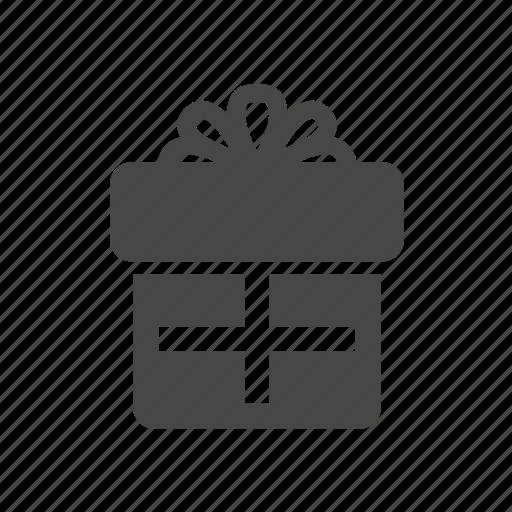 gift, gift box, present, present box icon