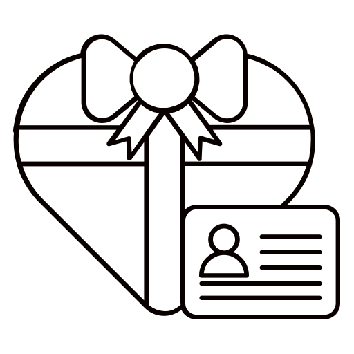 box, boxes, gift, heart, id, present icon
