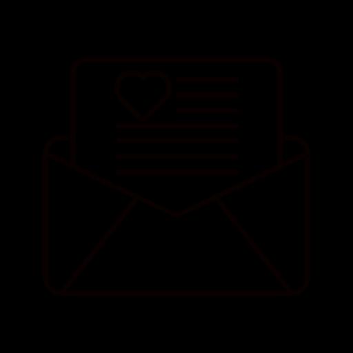 box, boxes, envelope, gift, heart, present icon