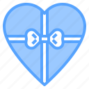 box, get, gift, give, heart, like, love icon