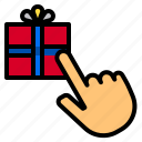 box, get, gift, give, like, love, select icon