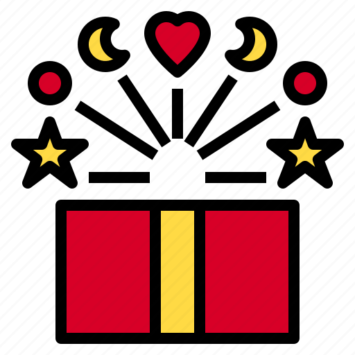 box, get, gift, give, like, love, wonder icon