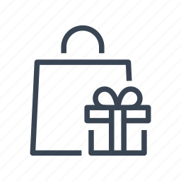 bag, buy, gift, shopping icon