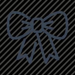 bow, christmas, ribbon, xmas icon