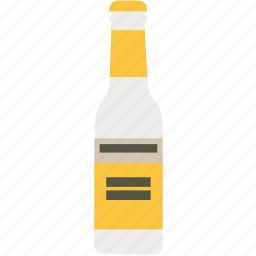 bottle, drink, fever tree, gin, tonic, water icon
