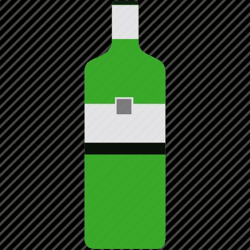 bottle, drink, gin, gordons, tonic, water icon