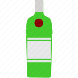 bottle, drink, gin, tanqueray, tonic, water icon