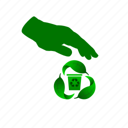 garbage, recycle, renew, trash, waste icon