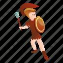 fight, gladiator, hand, man, person, roman