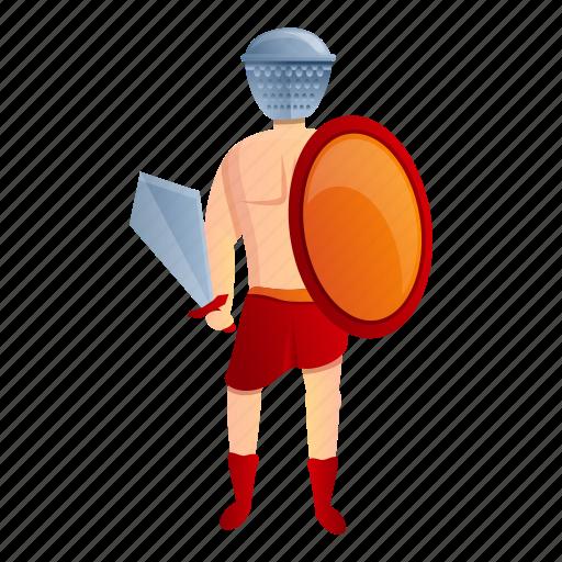 Person, roman, gladiator, man, helmet, warrior icon - Download on Iconfinder