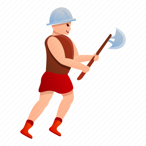 Axe, gladiator, heart, man, roman, shield icon - Download on Iconfinder