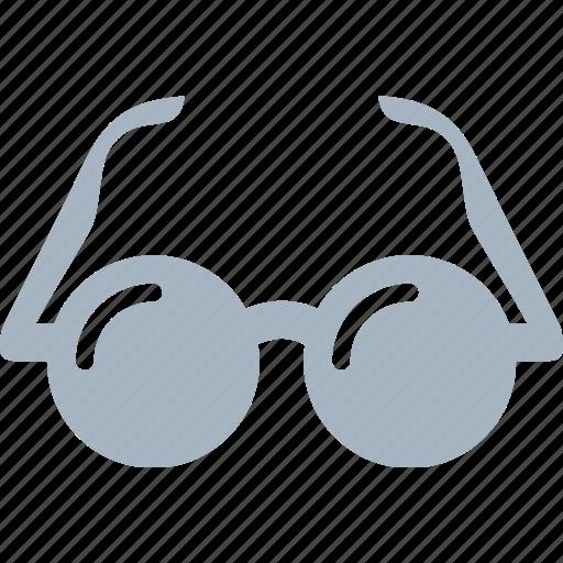 circle, eye, eyewear, glasses, john lennon, sunglasses icon
