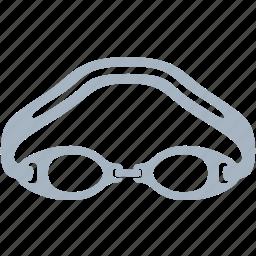 eye, eyewear, glasses, goggles, swim, swimming icon