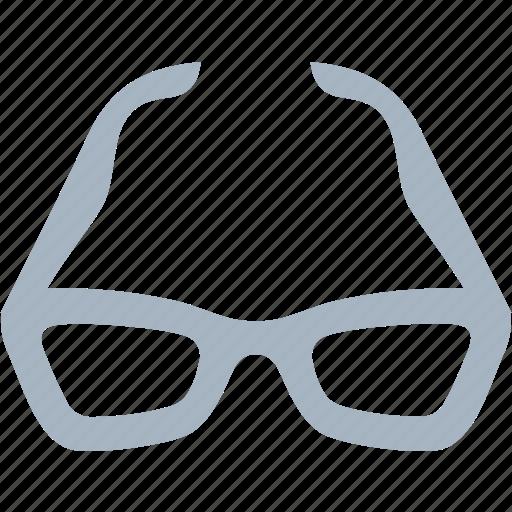 eye, eyewear, glasses, thick icon