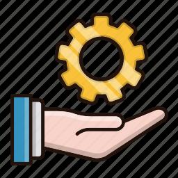 cog, development, gear, solution, tools icon