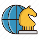 game, global, plan, strategy icon