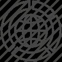 business, chart, global, international, stat, statistics, world icon