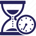 time frame, hourglass, processing time, timing, egg timer icon
