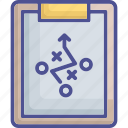 clipboard, plan, planning, planning report, strategy icon