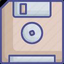 data storage, floppy, floppy disk, floppy drive, storage device icon