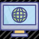 internet, online business, online work, seo, web business icon