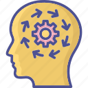 abilities, capability, intelligence, potential, user capacity icon