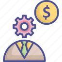 business, business strategy, effective strategy, finance, strategy icon