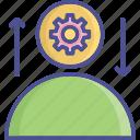 idea develop, generate idea, incentive, idea, stimulation icon