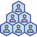 community, group, people, team, vendor relationship icon